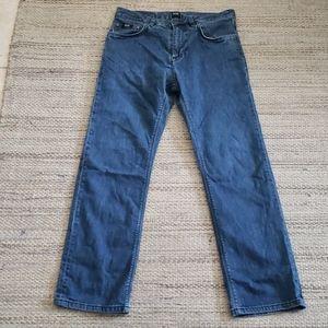 Hugo Boss cropped  straight leg jeans size 26